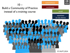 build community of practice