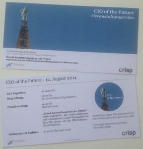 crisp - cio of the future