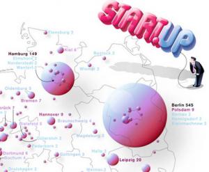 Startups in Deutschland - Quelle Zeit.de / Gründerszene.de